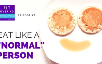 "17. Eat Like a ""Normal"" Person"